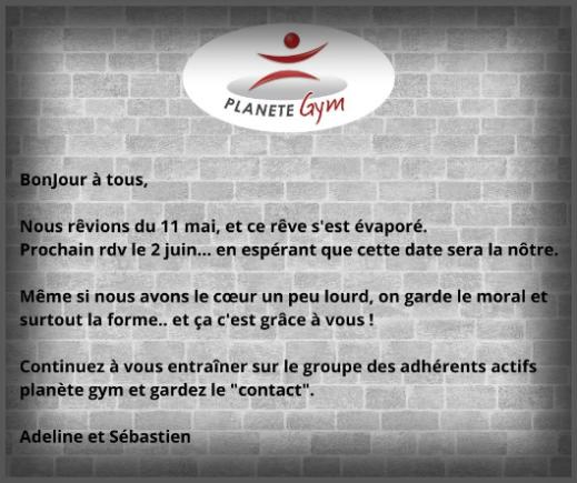 Planete Gym Centre De Remise En Forme Sur Vitre 35